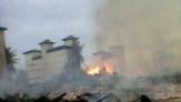 Belasan Kios Pasar Pulau Muda di Kecamatan Teluk Meranti Ludes Terbakar