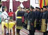 Datuk H Rasyid Abizar Kukuhkan Pengurus LAMR Bangko