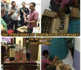 Sat Reskrim Polres Meranti Amankan Puluhan Botol Miras dan 2 Kotak Minuman Beralkohol Kemasan Kaleng