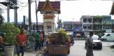 Sebabkan Macet, Satpol PP Tertibkan PKL di Trotoar dan Bahu Jalan Kota Pangkalan Kerinci