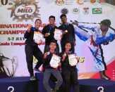 Lima Atlet Karate Pelalawan Berjaya di Malaysia