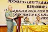 Riau Tingkatkan Kapasitas Aparatur Desa Menuju Desa Mandiri