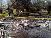 Kapolsek Tambang Pimpin Olah TKP Kebakaran Rumah Warga di Desa Tarai Bangun