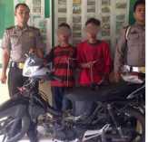 Dua Remaja Ditangkap Polsek Simpang Kanan
