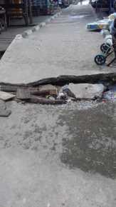 Pemborong Diminta Bertanggung-jawab, Pelabuhan Desa Lubuk Kempas, Inhil Baru Dibangun Sudah Rusak
