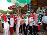Agar Sehat dan Bugar, Bupati Kuansing Mursini Instruksikan Jadwal Olahraga Pegawai
