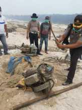 Takut Dompengnya Dirusak Petugas, Pelaku PETI di Duta Palma Kuburkan Mesin