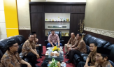 Ketua DPRD Kuansing Terima Kunjungan FPK