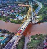 Dewan Minta Masyarakat Sabar, Jembatan Siak IV Segera difungsikan