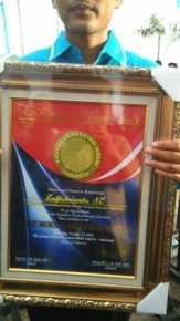 Desa Sontang, Rohul Raih Dua Prestasi di 2016