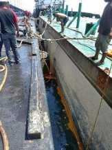 CPO Milik PT. Kuala Lumpur Kepong Tumpah ke Laut Dumai