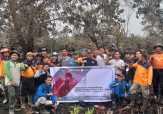 Mahasiswa UIR Bantu BPBD Riau Padamkan Karhutla di Pelalawan