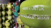 Pengawasan Lemah, di Pelalawan Elpiji Tabung Melon Dijual Diatas HET