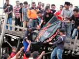 Korban Tenggelam Kapal Pompong Pengangkut Tiang Listrik Ditemukan Tewas