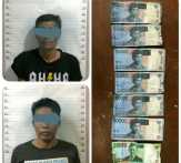 Polisi Tangkap Pengedar dan Pemilik Uang Palsu di Bengkalis