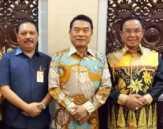 Bupati Inhil Sampaikan Permasalahan Kelapa pada Kepala Staf Presiden RI