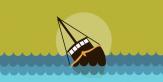 Kapal Tenggelam di Nias, Penyelamatan 20 Nelayan Terhalang Ombak 2 Meter