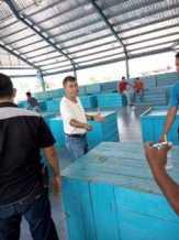 Sempena HUT ke-71 TNI, UPT DPK Mandau dan Koramil 06 Gelar Bazar di Pasar SSK Duri