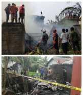 Dua Unit Rumah di Tembilahan Hulu, Inhil Ludes Terbakar