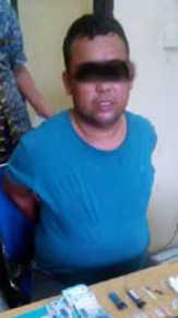 Dua Pengedar Sabu di Rohul Ditangkap Polisi di Depan Warnet