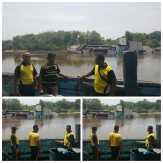Bocor saat Bersandar di Pelabuhan, KLM Citra Samudra Tenggelam di Sungai Siak