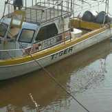Polsek Bantan Amankan Speedboat Diduga Hasil Curian dari Malaysia
