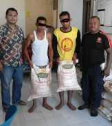 Gelapkan Puluhan Karung Pupuk, Dua Buruh Panen PT. PR Rupat Diamankan Polres Bengkalis