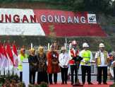 Jokowi Resmikan Bendungan Gondang di Karanganyar