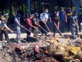 Bengkalis Musnahkan 395 Karung Bawang Merah Ilegal Tangkapan TNI AL