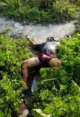 Hendak Cari Bambu, Warga SM Yamin Panam Temukan Mayat Mr X Membusuk