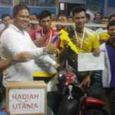 Bertarung dengan 'Sengit', Ijon/Afit Boyong Motor Ketua DPRD Kuansing