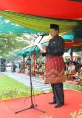 Bupati Alfedri Pimpin Upacara HUT ke-20 Siak