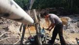 Hentikan Aktivitas PETI di Pangean Kuansing, Polisi Rusak 18 Rakit