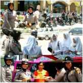 Polwan Polres Kampar Intensifkan Patroli Dialogis dan Sambangi Warga