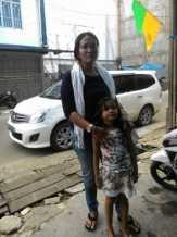 Ibu Satu Anak Berurai Air Mata Tinggalkan Mapolres Inhil
