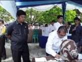 Ketua DPRD Kuansing Ikuti Simulasi Penghitungan Suara Pileg dan Pilpres