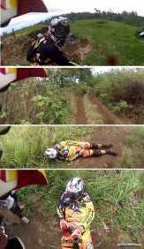 Kecelakaan Sepeda Gunung