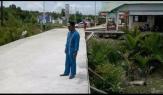 Pemkab Rohil Selesaikan Perbaikan Jalan di Sinaboi