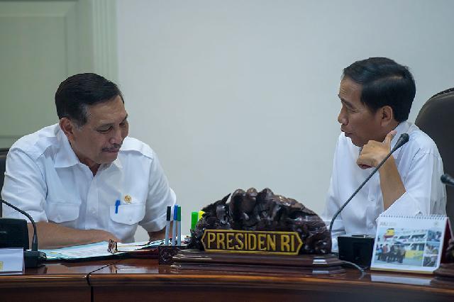 Presiden Pimpin Ratas Bahas Pagu Indikatif 2017