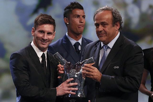 Messi Terpilih sebagai Pemain Terbaik Eropa
