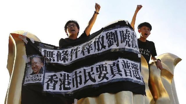 Protes 20 Tahun Penyerahan Kembali Hong Kong ke China