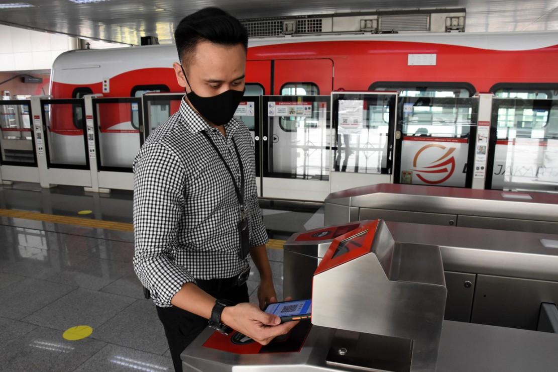 LRT Jakarta Hadirkan Layanan Pembayaran Tiket Nirsentuh