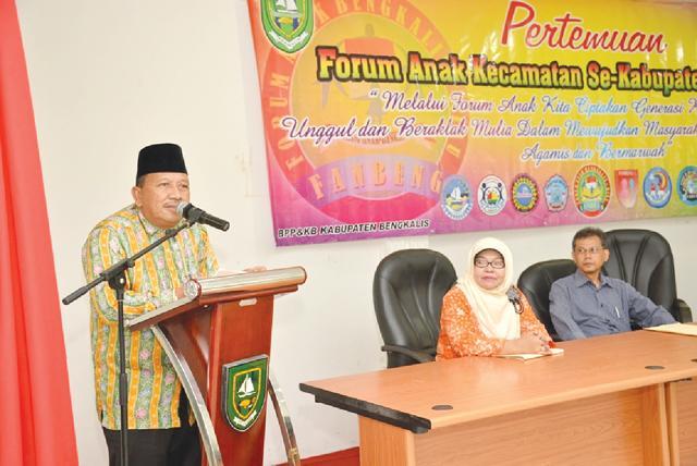 Pertemuan Forum Anak Kecamatan