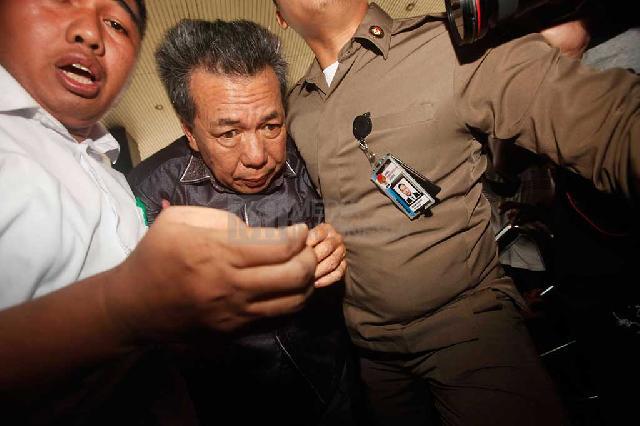 Ketua PN Kapahiang Dibawa ke KPK