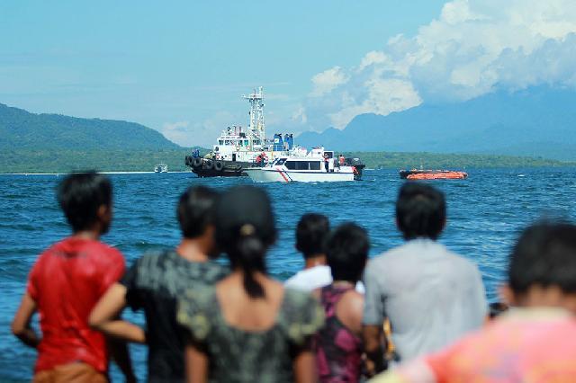 KMP Rafelia II Tenggelam di Selat Bali