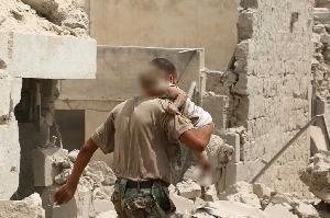 Bom Barel di Aleppo Tewaskan 11 Anak