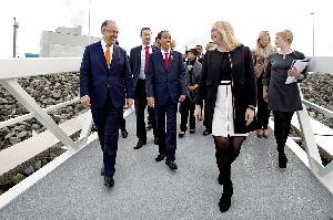 Jokowi Kunjungi Pelabuhan Rotterdam