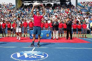 Federer Menangi Gelar Cincinnati Masters Ketujuh Kalinya