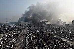 Korban Tewas Ledakan Tianjin Bertambah