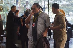 Adik Bambang Widjojanto Jalani Pemeriksaan di KPK
